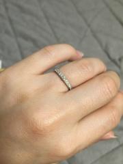 【エクセルコダイヤモンド(EXELCO DIAMOND)の口コミ】 上品な輝きがイメージ通りで、一目惚れしました。輝きが本当にステキです。…