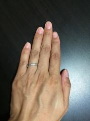 【カルティエ(Cartier)の口コミ】 有名老舗ブランドのカルティエが大好きで、結婚指輪はカルティエにすると決…