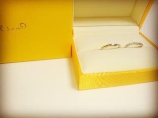 【ケイウノ ブライダル(K.UNO BRIDAL)の口コミ】 婚約指輪は購入しないため、少し小さなダイヤがついたものを探していました…