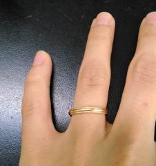 【festaria bijou SOPHIA(フェスタリア ビジュソフィア)の口コミ】 結婚指輪は普段使いするつもりだったので、とにかくシンプルであること、…