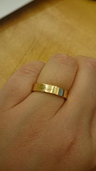 【カルティエ(Cartier)の口コミ】 昔からピンクゴールドの指輪がいいと憧れていたのでピンクゴールドの指輪…