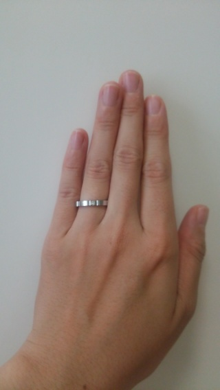 【カルティエ(Cartier)の口コミ】 結婚指輪は毎日つけるものなので、ブランドとデザインの両方を重視しまし…