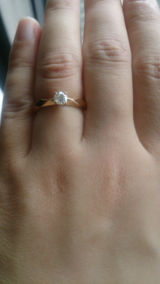 【ブシュロン(BOUCHERON)の口コミ】 ファセットのカットに一目惚れしました。結婚指輪も同じファセットにした…