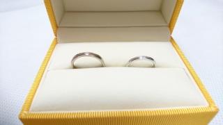 【ケイウノ ブライダル(K.UNO BRIDAL)の口コミ】 元々シンプルな指輪を探していたので、事前に送ってもらったデザイン画を…
