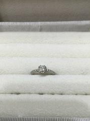 【ヴァンドーム青山(Vendome Aoyama)の口コミ】 ゴージャスなデザインにずっと憧れがありました。ダイヤが大きく見え、かつ…