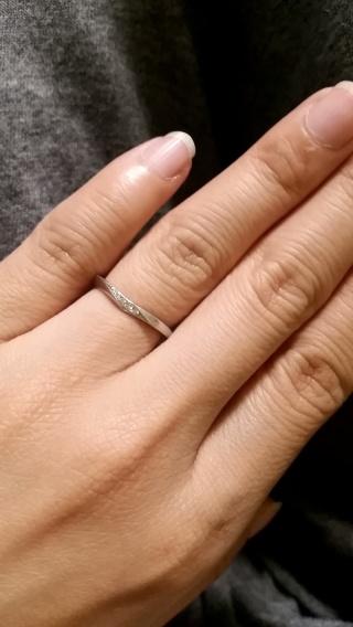 【TRECENTI(トレセンテ)の口コミ】 とてもスタッフさんが、親身でした。 いろんな指輪を試着させてくださり、…