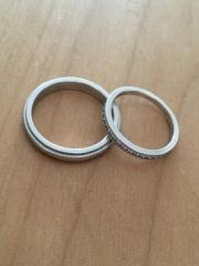 【ティファニー(Tiffany & Co.)の口コミ】 ダイヤが綺麗だったのと、婚約指輪と合わせてしたかったので、ブランドを合…