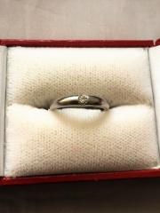【ラザール ダイヤモンド(LAZARE DIAMOND)の口コミ】 普段そのままずっと着けていて邪魔にならず、お手入れがしやすい、シンプル…
