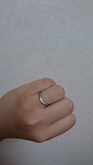 【ラザール ダイヤモンド(LAZARE DIAMOND)の口コミ】 好きなデザインが、シンプルだけどどこかしらアクセントがあるものだったの…