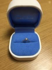 【銀座ダイヤモンドシライシの口コミ】 指輪自体に関しては、シンプルでデザインに飽きがこなさそうなもの探して…