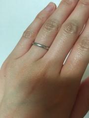 【カルティエ(Cartier)の口コミ】 カルティエというブランドに憧れがあり、結婚指輪はぜひ夫婦そろってカルテ…