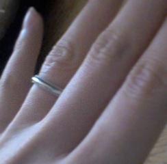 【ティファニー(Tiffany & Co.)の口コミ】 ゼクシィ等結婚情報誌を見ましたがあまりピンとこず、実際に百貨店へ見に…