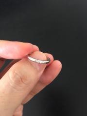 【ラザール ダイヤモンド(LAZARE DIAMOND)の口コミ】 ラザールさんはダイヤのクオリティーも高く、デザインも素敵なので、結婚指…