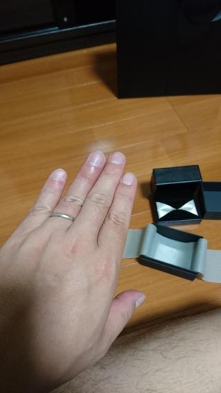 【エクセルコダイヤモンド(EXELCO DIAMOND)の口コミ】 11月に結婚予定でそれまでに欲しいと思ってた結婚指輪!!5月に念願の…