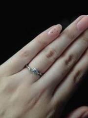 【アイプリモ(I-PRIMO)の口コミ】 自分にどのような指輪があうのか分からなかったので、私の手にあうタイプの…