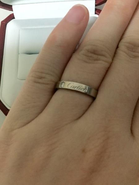 innovative design ee23e 6193d 婚約指輪と同じティファニーで揃えようかとも考えたが ...
