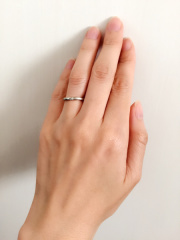 【アイプリモ(I-PRIMO)の口コミ】 婚約指輪を同店舗で購入した際にとても良い対応をしてもらえたので、割引キ…