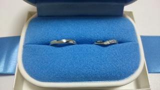 【銀座ダイヤモンドシライシの口コミ】 ペア感が感じられる指輪を探しており、他店で見たどの指輪よりもペア感を…