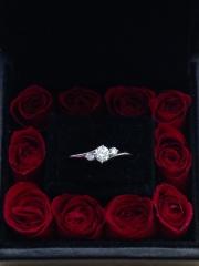 【エクセルコダイヤモンド(EXELCO DIAMOND)の口コミ】 ブランド全体でダイヤモンドへのこだわりを感じるため、安心して購入できま…
