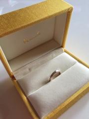 【ケイウノ ブライダル(K.UNO BRIDAL)の口コミ】 自分だけしか持っていない特別な指輪が欲しかったので、フルオーダーができ…