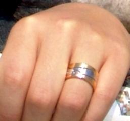 【GEORG JENSEN(ジョージジェンセン)の口コミ】 もともと、婚約期間というものがなかったので結婚指輪だけを購入する予定…