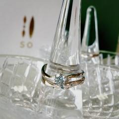 【SO(ソウ)の口コミ】 当初は、婚約指輪は購入しない予定で、結婚指輪のみを見ていましたが、結婚…