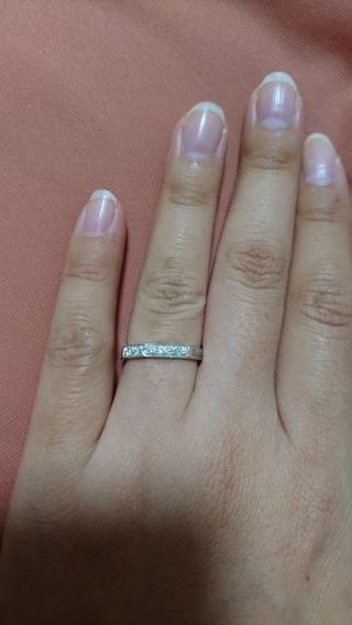 【グッチ(GUCCI)の口コミ】 私がGUCCIが好きで、婚約指輪もGUCCIを頂きました。 婚約指輪が…