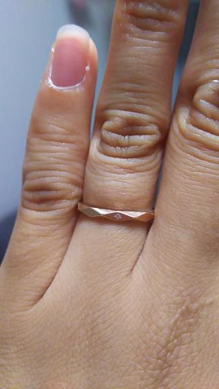 【Pinky&Dianne(ピンキー&ダイアン)の口コミ】 結婚指輪を無くしてしまって、誕生日と結婚5年目のお祝いにまた指輪を買っ…