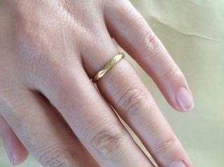 【with Happiness..の口コミ】 結婚指輪を探していて行き当たりばったりに入ったお店で一目惚れしました…