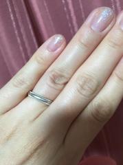 【ティファニー(Tiffany & Co.)の口コミ】 以前ファッション雑誌で結婚指輪の特集があり、その時一目で気に入ってしま…