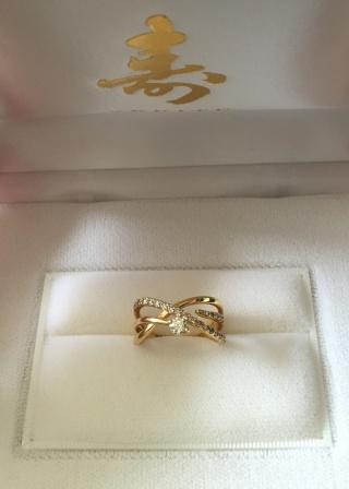 【VERITE(ベリテ)の口コミ】 指輪の決め手は、何と言っても第一印象、インスピレーションです。可愛い…