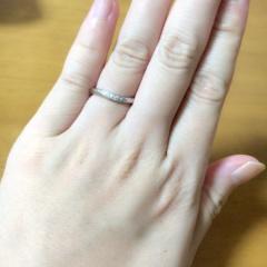 【4℃(ヨンドシー)の口コミ】 結婚前から結婚指輪は4℃がいいな、という理想があったのでブランドは迷う…