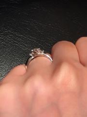 【エクセルコダイヤモンド(EXELCO DIAMOND)の口コミ】 ダイヤモンドの輝きがここだけ全然ちがいました。原石から厳選してさらに…