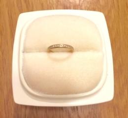 【俄(にわか)の口コミ】 指輪を見に行く際、別のものをに目星をつけて見に行ったのですが、始めて店…