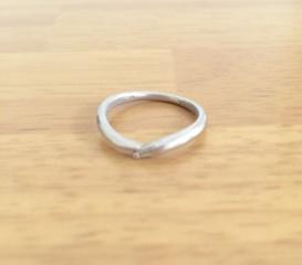 【ケイウノ ブライダル(K.UNO BRIDAL)の口コミ】 指が綺麗に見える結婚指輪を探しました。ケイウノさんはどの指輪も綺麗で…