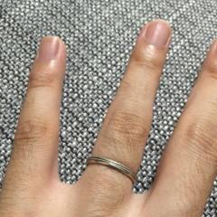【Joie de treat.(ジョア・ドゥ・トリート)の口コミ】 会社に毎日つけていくものなので、シンプルな指輪をさがしていました。相…
