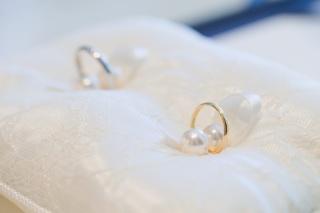 【ティファニー(Tiffany & Co.)の口コミ】 指輪の色は絶対ゴールドと決めていました。ゴールドと言っても色んな色があ…