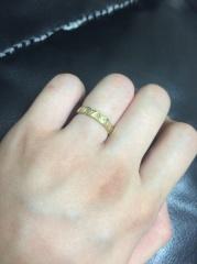 【JEWELRY  KAMATA(ジュエリーかまた)の口コミ】 世界に1つだけの自分たちの指輪にしたかったので、フルオーダーという点で…