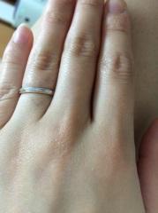 【CHER LUV(シェールラブ)の口コミ】 初めは違うブランドのピンクダイヤの付いた可愛い物を購入しようとしてい…
