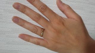 【Hawaiian Palms Jewelryの口コミ】 結婚指輪はハワイアンジュエリーがいいと昔から決めていたのですがジュエ…