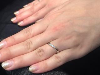 【ラザール ダイヤモンド(LAZARE DIAMOND)の口コミ】 ラザールダイヤモンドはダイヤの輝きが、素敵でした。婚約指輪をウェーブデ…