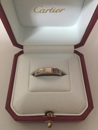 【カルティエ(Cartier)の口コミ】 指輪の説明に書かせてもらっているとおり、絵柄というか、デザインが素敵だ…