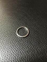 【カルティエ(Cartier)の口コミ】 あまり指輪が好きではなく、シンプルなものがよく、カルティエのウェディ…