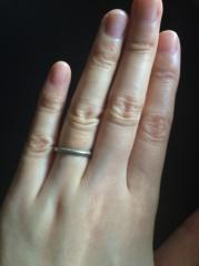 【ティファニー(Tiffany & Co.)の口コミ】 年齢を重ねても上品に使える指輪が欲しく、こちらを選びました。 ただ、シ…