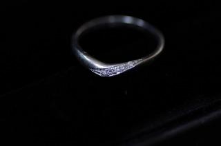 【エクセルコダイヤモンド(EXELCO DIAMOND)の口コミ】 婚約指輪をもらってなかったので ダイアが入ってるものが良かったのですが…