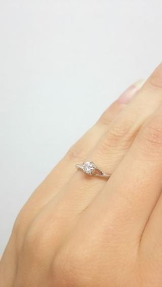 【俄(にわか)の口コミ】 プロポーズの時に、俄さんのプロポーズ用のリングを頂いていたので、ブラ…