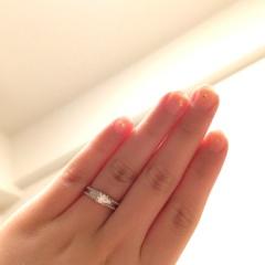 【ヴァン クリーフ&アーペル(Van Cleef & Arpels)の口コミ】 ヴァンクリーフらしいデザインに一目惚れでした。ダイヤモンドのカラット…