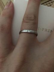 【アイプリモ(I-PRIMO)の口コミ】 決め手は、指輪のデザイン、担当の方の手厚いフォロー、保証制度などの充実…