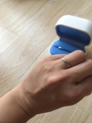 【銀座ダイヤモンドシライシの口コミ】 こだわりがなかった為、価格を指定して、オススメの指輪に決めました!本当…