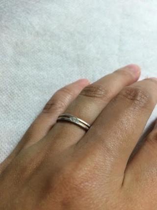 【アイプリモ(I-PRIMO)の口コミ】 婚約指輪を購入したときにお店の雰囲気が好きで最初に下見したのですが、…